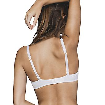 Maison Lejaby 17433-03 Women's Cottone-Moi White Cotton Non-Padded Underwired Full Cup Bra