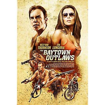 El Baytown Outlaws Movie Poster (11 x 17)