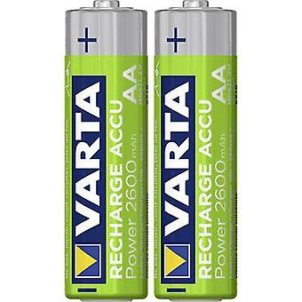 VARTA Ready2Use HR06 AA battery (akumulator) NiMH 2600 mAh, 1.2 V 2 szt.