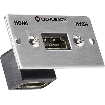 Oehlbach PRO IN MMT-G90 HS HDMI Multimedia inset + gender changer