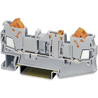 Phoenix Contact QTC 1,5-MT 3205103 N terminale numero di pin: 2 0,25 mm ² 1,5 mm ² grigio 1/PC