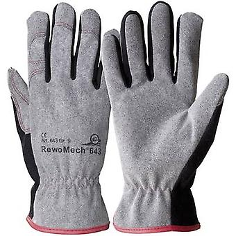 KCL RewoMech 643-9 Faux leather Protective glove Size (gloves): 9, L CAT II 1 Pair