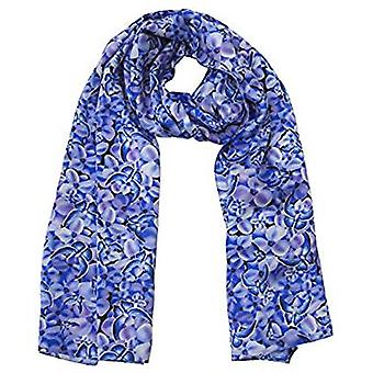 Bluebutterfly Design Silk Scarve