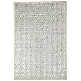 Outdoor carpet for Terrace / balcony silver Skandi look Stuoia silver 130 / 190 cm carpet indoor / outdoor - for indoors and outdoors