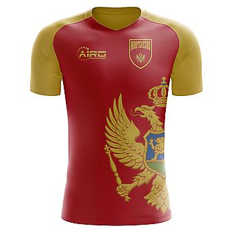 2020-2021 Montenegro Home Concept Football Shirt (Kids)