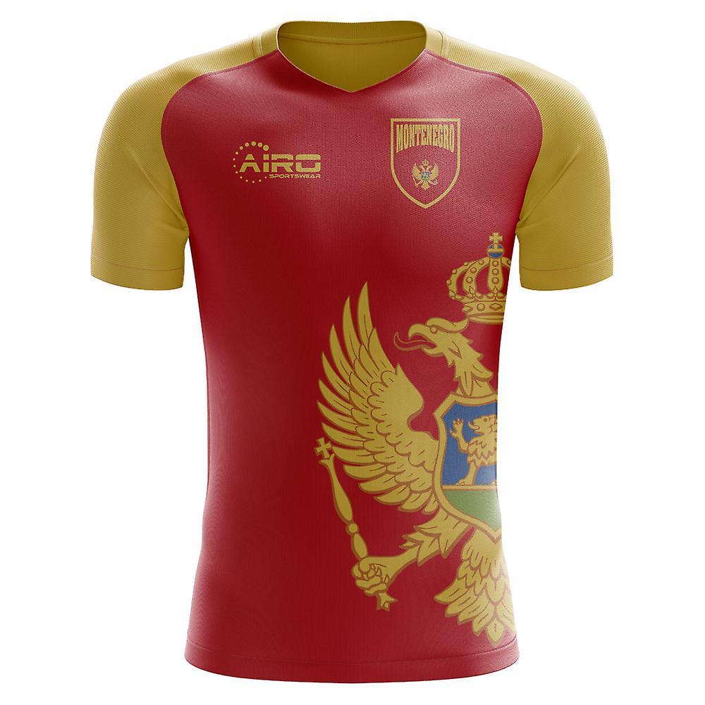 d5cce8814 2018-2019 Montenegro Home Concept Football Shirt (Kids)