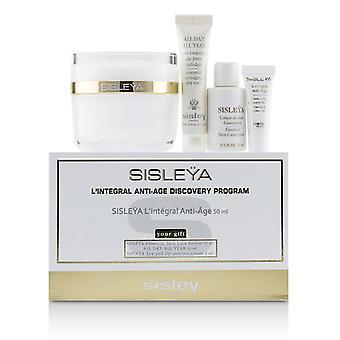 Sisley Sisleya L'integral Anti-Age Discovery Program: Sisleya Face 50ml Sisleya Lotion 15ml Sisleya Eye 2ml Ganzjährig 10ml - 4stk.