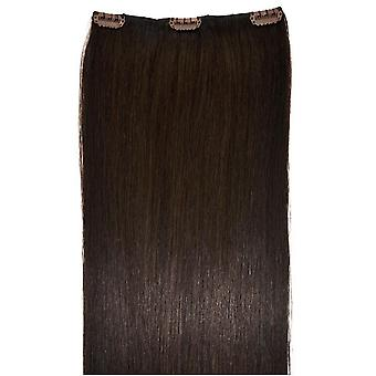 #2 Intense Dark Brunette - Clip-in Hair Piece
