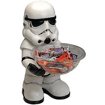 Soldado de asalto caramelo recipiente sostenedor galaxias medio hermano 40 cm con plato