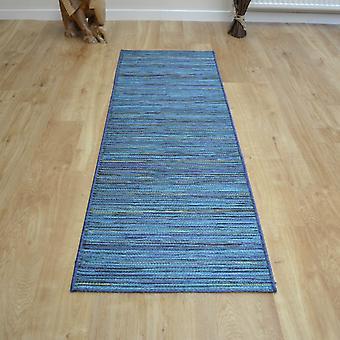 Brighton Hallway Runner 98122 5000 In Blue