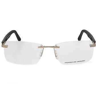 Porsche Design P8232 C Rectangular | Matte Gold Grey| Eyeglass Frames