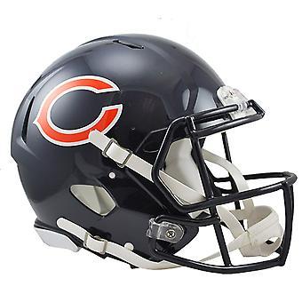Casco original de la revolución de Riddell - osos de Chicago de la NFL