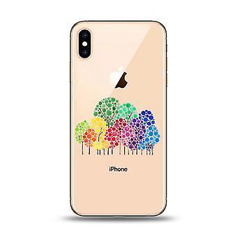 Happy Trees telefon veske-iPhone XS MAX