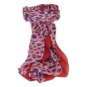 Bufanda de seda de morera contemporáneo Plaza Vihar llama por Pashmina y seda