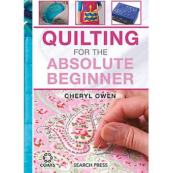 Quilting for the Absolute Beginner - 9781782212638 Book