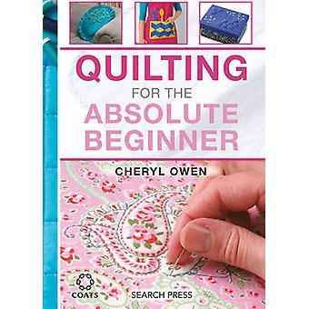 Quiltning for absolutte begyndere - 9781782212638 bog