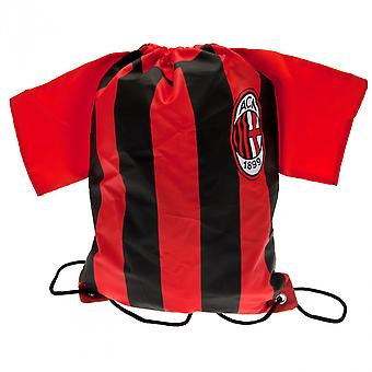 AC Milan Shirt Drawstring Gym Bag