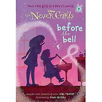Aldrig flickor #9: före klockan (Disney: den aldrig tjejer) (Stepping Stone Book(tm))