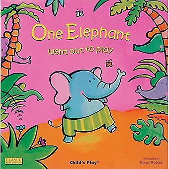 Een olifant ging naar buiten om te spelen (klassieke boeken met gaten)