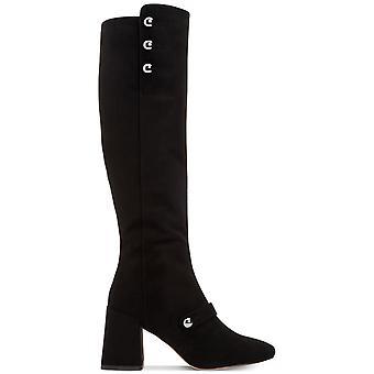 BCBGeneration Womens Bella Fabric Round Toe Knee High Fashion Boots
