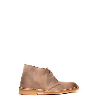 Clarks Ezbc095004 Women's Bege Suede Ankle Boots