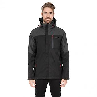 Trespass Mens Danson DLX vettähylkivä hupullinen takki