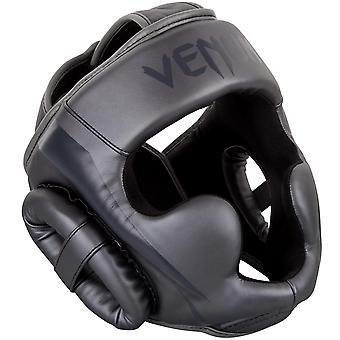 Venum Elite Boxing MMA Headgear - All Gray