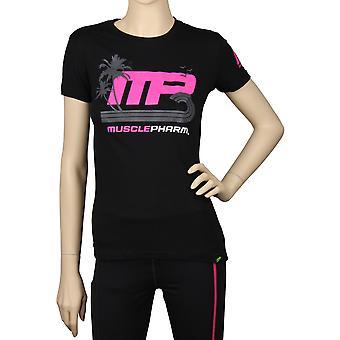 MusclePharm Womens Sunset T-Shirt - Black