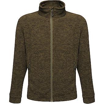 Outdoor Look Mens Aso Thornly Full Zip Marl Fleece Jacket