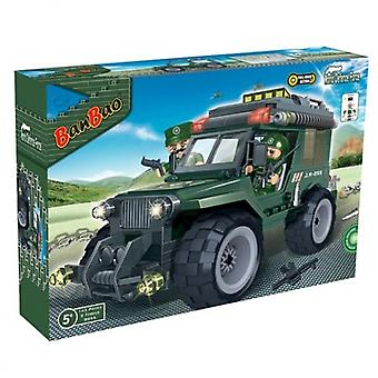 BanBao Interlocking Blocks Military Jeep 8255 (143 Pcs)