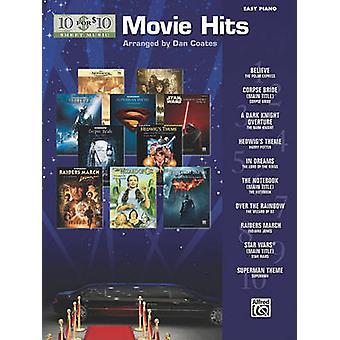 10 for 10 Sheet Music Movie Hits - Easy Piano Solos by Dan Coates - 97