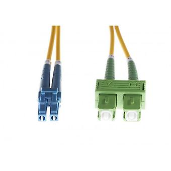 LC-SC/APC Os1/Os2 single mode Fibre optic duplex kabel