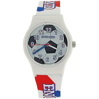 Citron England Analogue Boys - Kids Football Design Plastic Strap Watch S05C