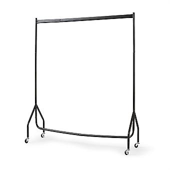 Extra Heavy Duty 4FT Long x 5FT Clothes Rail In Black
