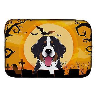 Carolines Treasures BB1795DDM Halloween Bernese Mountain hund fad tørring mat