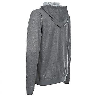 Trespass Mens Goodman Full Zip Hooded Fleece Jacket