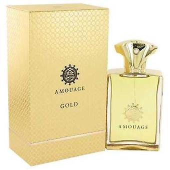 Amouage Gold By Amouage Eau De Parfum Spray 3.4 Oz (men) V728-512989