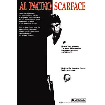 Scarface One Sheet Maxi Affiche 61x91.5cm