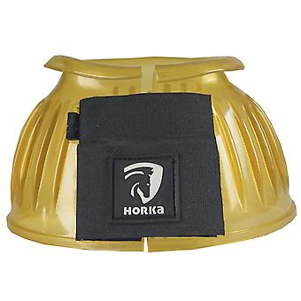 Horka Pvc Pony/horse Bell Boots - Yellow
