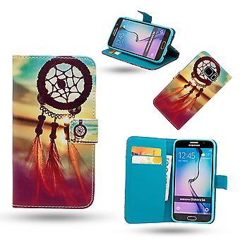 Samsung Galaxy S6 Edge - Fodral / Plånbok - Drömfångare
