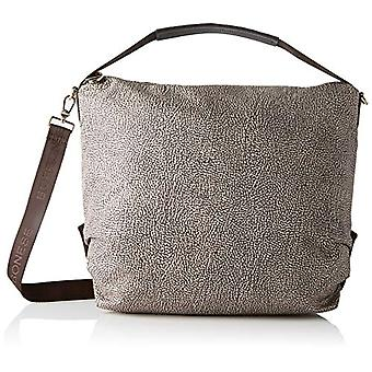 Borbonese Hobo Large C/t Women's Crossbag Bag (Classic Op/Brown) 34x35x12 cm (W x H x L)