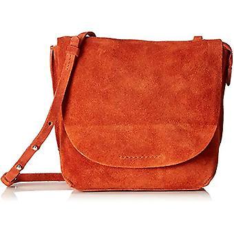 Clarks Tallow roze-oranje dames schoudertassen (Burnt Orange) 8x23x20 cm (B x H T)