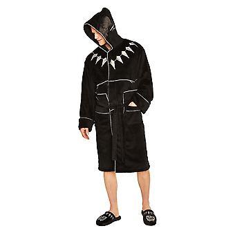 Mens Marvel Black Panther Fleece badjas badjas ambtenaar Licensed Merchandise