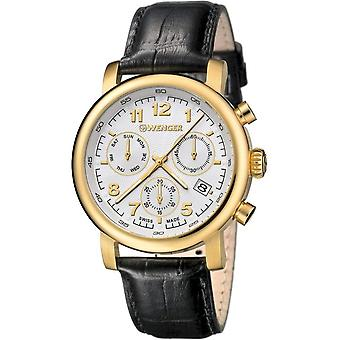Wenger Men's Watch 01.1043.106 Chronographs