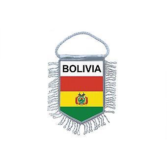 Flagg mini flagg Country bil dekorasjon bolivianske
