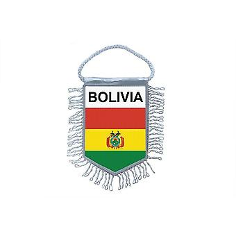Vlag mini vlag land auto decoratie Boliviaanse