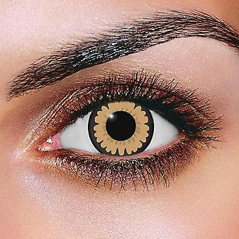 Big Eye Sexy Brown Contact Lenses (Pair)