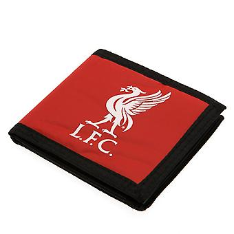 Liverpool FC Touch Fastening Canvas Wallet