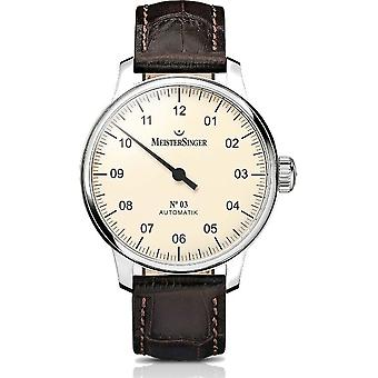 MeisterSinger Men's Watch No.03 Automatic AM903_SG02