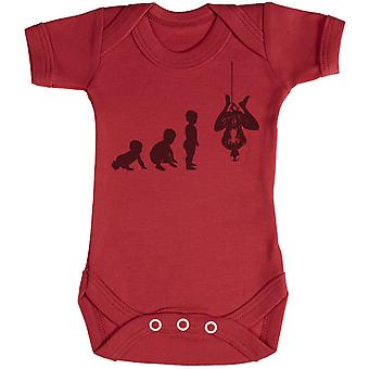 Baby Evolution To A Spider Man - Baby Bodysuit